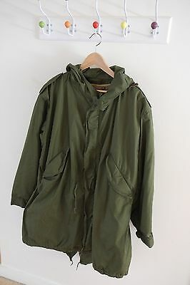 m51 parka, with Liner. Un-issued Parker from Germany, Mod, Scooters, Lambretta