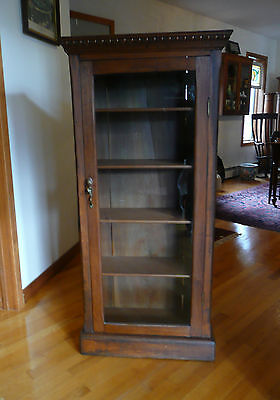 Late 1800's General Store Display, Bookcase, Curio, China Cabinet, Display Case