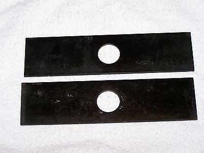EDGER BLADES- 8 iNCH, WITH 1 INCH CENTER HOLE, UNIVERSAL TYPE. PRT# 13940.