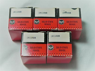 RCA Rectifier Diode 1N1348A NOS Lot of 5