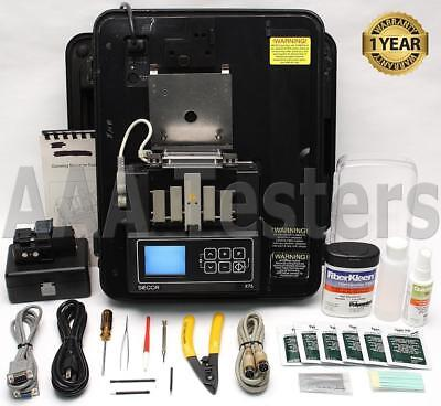Siecor Corning X75 SM MM Fiber Optic Fusion Splicer w/ USF-21C Cleaver