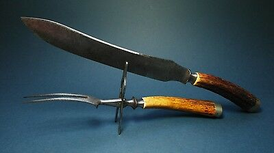 knife old altes messer solingen zwilling henckels 1900 hunting besteck vintage eur 280 00. Black Bedroom Furniture Sets. Home Design Ideas