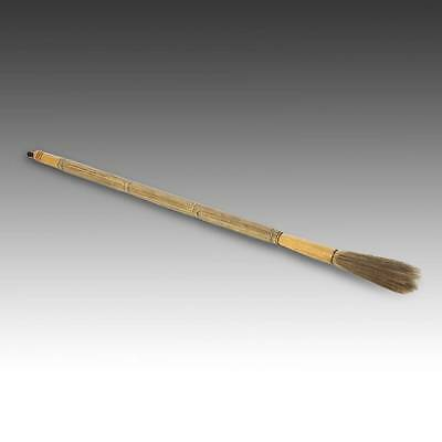 Vintage Chinese Authentic Scholar's Calligraphy Brush Bi Four Treasures China