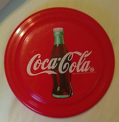 "VIntage 1998 COCA-COLA Flying Frisbee Disc 9"" Humphrey Flyer"