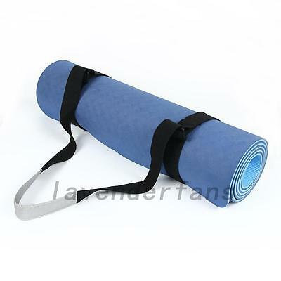 Convenient Adjustable Yoga Mat Carrier Carrying Sling Strap Belt Assistant Tool