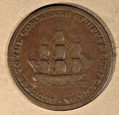 1812 Upper Canada Brock Token Success to Commerce Circ** FREE U.S. SHIPPING **