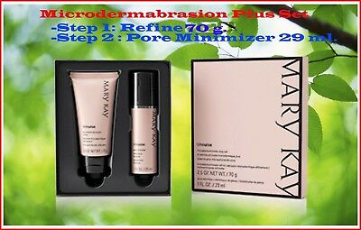 Lot of 2 Mary Kay 2 Set de Micro-Dermoabrasión Plus TimeWise - FRESH FULL SIZE.