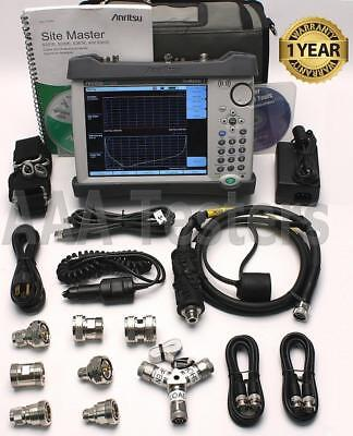 Anritsu Site Master S332E Cable / Antenna & Spectrum Analyzer SiteMaster S332