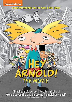 Hey Arnold!  The Movie [DVD, NEW] FREE SHIPPING