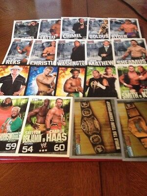 19 Topps Slam Attack Trading Cards