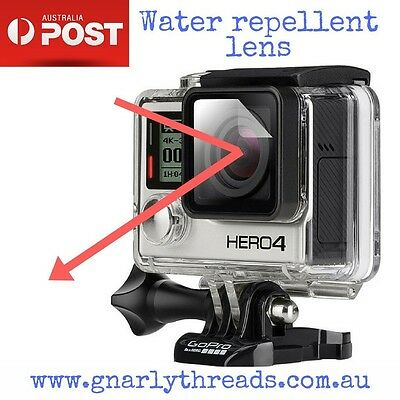 XClear GoClear Hydrophobic Water Repellent Lens for GoPro HERO 1 / 2 / 3 / 4