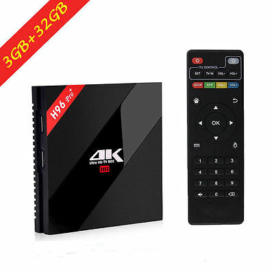 H96 PRO Plus Amlogic S912 Octa core Android 16. 0 TV BOX Media Player