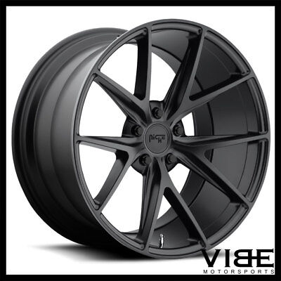 mercedes 19 in 63 black wheels rims staggerd set4 fits e350 e500 Mercedes-Benz E350 Sport Package 20 niche misano black concave wheels rims fits mercedes w215 cl500 cl55 cl
