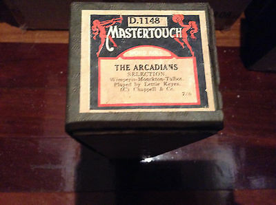 PIANOLA ROLL - The ARCADIANS D1148 MASTERTOUCH