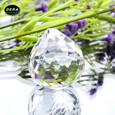 10PCS transparent color Light  Crystal Ball Prism Chandelier Parts Wedding DIY