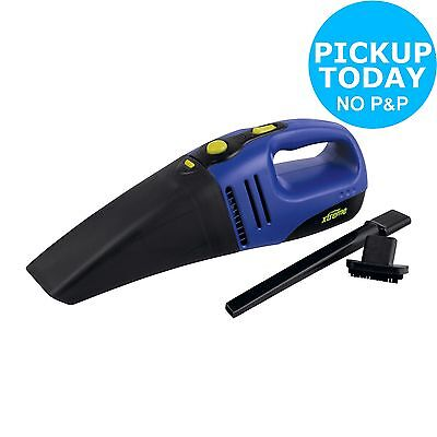Challenge Xtreme 12V Wet and Dry Car 60W Vacuum Cleaner - Black/Blue -From Argos