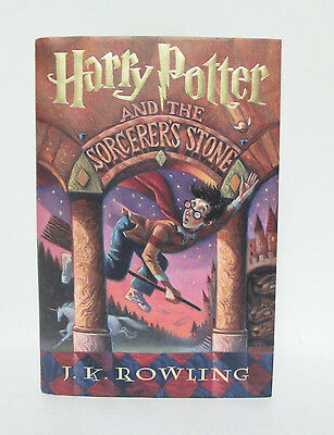 Harry Potter Sorcerer's Stone Hardcover Book 1998 First Edition 42nd Print