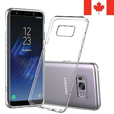 For Samsung Galaxy S8 Plus Case - Clear Gel Thin Soft TPU Transparent Cover