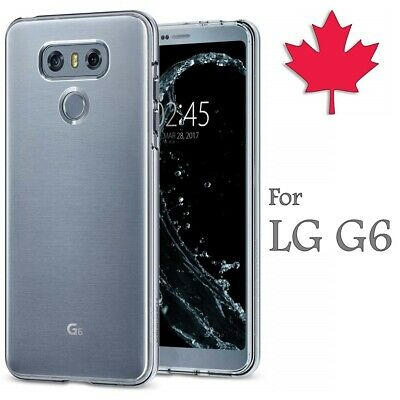 For LG G6 - Crystal Clear Case Gel Ultra Thin Soft TPU Transparent Cover