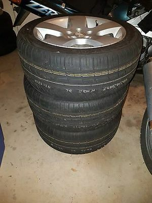 5x Tickford rims with brand new tyres