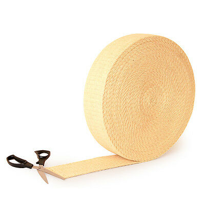 1 metre Length kevlar wick 75mm 3 inch wide 3.2 thick for fire toys poi staff