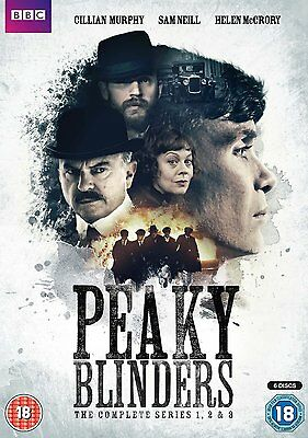 Peaky Blinders - Series 1-3 Boxset Brand New DVD Region 2 Box Set