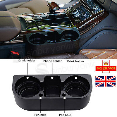 Universal Large Cup Holder Car Van Storage Drinking Bottle Can Mug Mount Stand