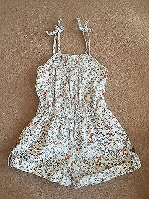 Girls Next short playsuit age 6 years Summer Holidays Party Flower