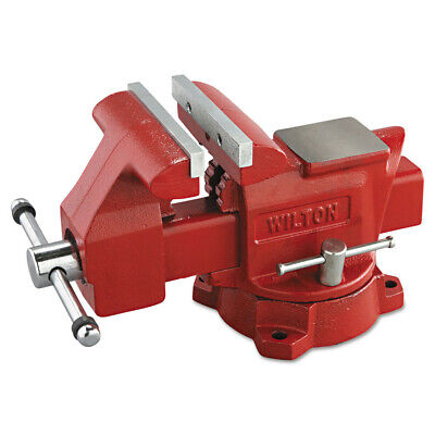 JET 11127 Heavy-Duty 5-Inch Cast-Iron Utility Vise with Swivel Base New