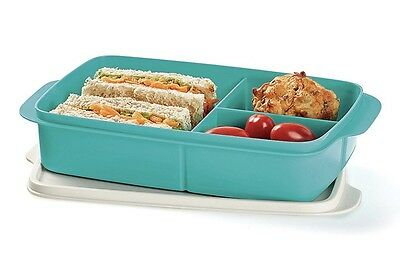 Tupperware Large Divided Lunch Box