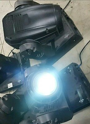 pair of 575 DMX moving heads