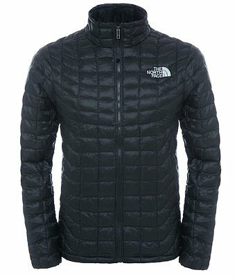 Genuine The North Face Men's Thermoball Full Zip Jacket, Black, Size Large