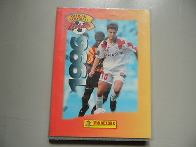 Album Official Football Cards 1996 Complet Moins 1
