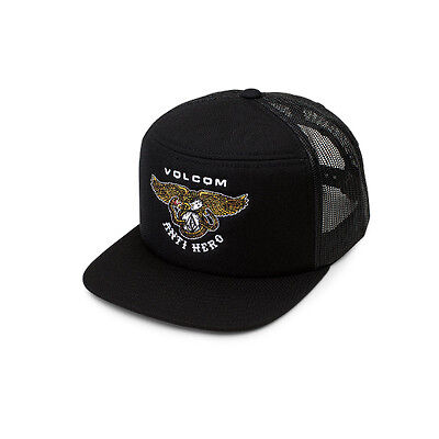 Volcom X Anti Hero Hash Stash Snapback Cap Skateboarding Limited Edition