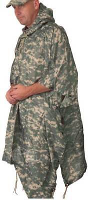 Poncho Military Style Army Digital Nylon with Carry Pouch by 5 Star Gear 3126