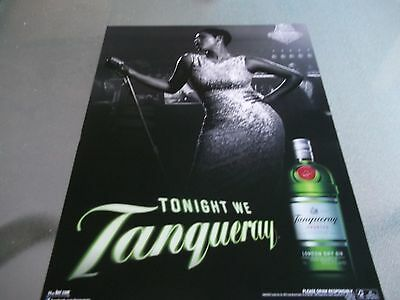 Preowned Liquor Store 'tanqueray' Poster Advertising