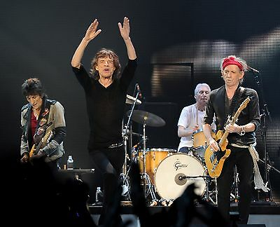 Mick Jagger & Rolling Stones Rock Group Band Concert 8X10 Music Photo Picture #3
