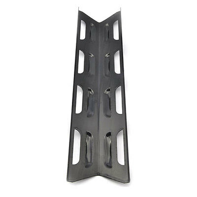 4 Pack 92071 GasGrill Porcelain Steel Heat Plate Replacement for Perfect Flame