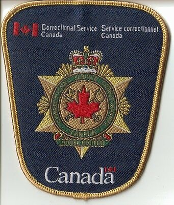 Federal Correctional Service Canada Shoulder Patch (CSC/SCC)