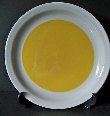 "Vintage Restaurant Ware STERLING CHINA 9"" Luncheon or Dinner Plate YELLOW ( G5 )"