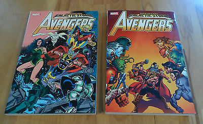 AVENGERS GALACTIC STORM VOL 1 + 2  MARVEL NEW tpb graphic novel trade paperback
