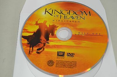 Kingdom of Heaven (DVD, 2005, 1-Disc Widescreen)Disc Only Free Shipping 1-275