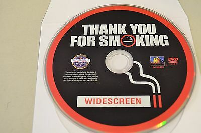 Thank You For Smoking (DVD, 2009, Widescreen)Disc Only Free Shipping 1-282