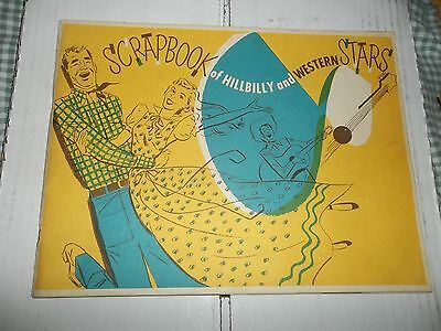 scrapbook of hillbilly and western stars 1952 Eddy Arnold Thurston Moore