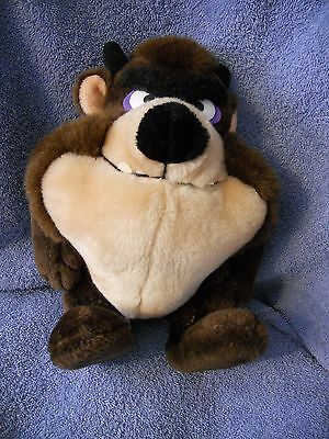"Looney Tunes Warner Bros 11"" Plush Taz Tasmanian Devil #1537 Acrylic Fibers"