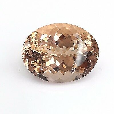 Superb 36.95 Carats Mozambique Morganite 25.3 x 19.7 MM