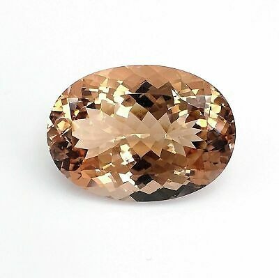 Superb 35.40 Carats Mozambique Morganite 26.1 x 19 MM Active