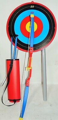 NEW Kids Children Deluxe Archery Set Target Bow and Arrow Sport Toy