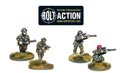 Warlord Games Bolt Action British Airborne Flamethrower And Sniper Teams