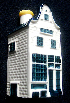 NEW Blue Delft KLM AIRLINES  BOLS Amsterdam Miniature Dutch House #12  Sealed